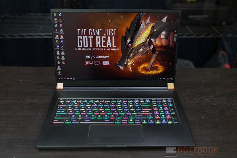 MSI GS75 RTX2080 Review 4