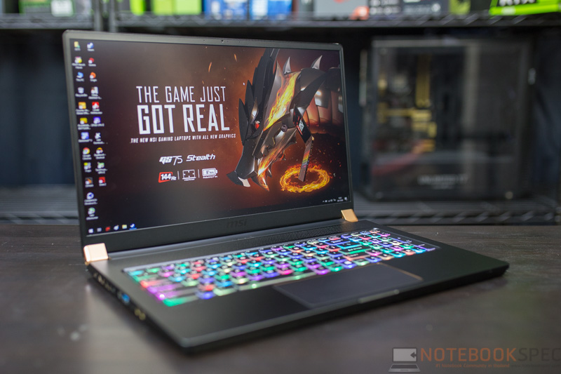 MSI GS75 RTX2080 Review 59
