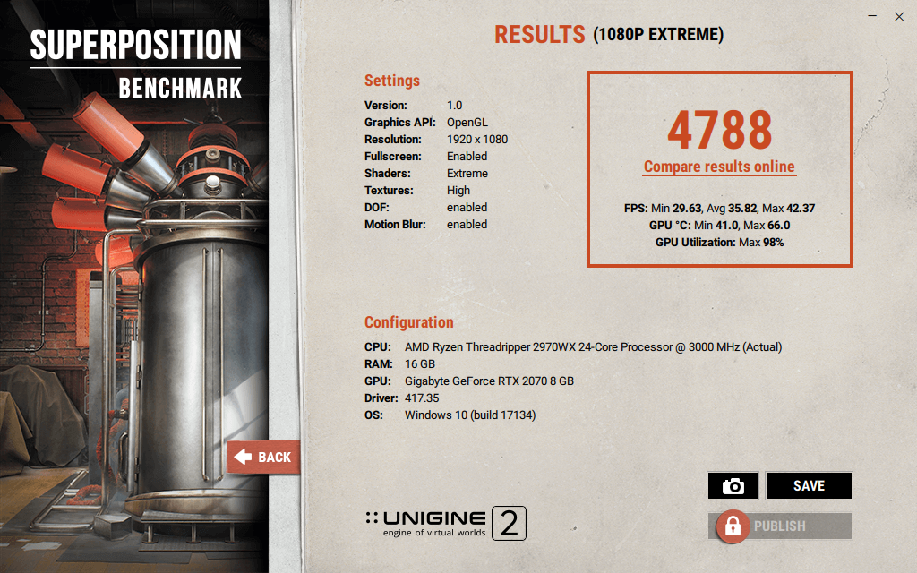 UNIGINE Superposition v1.0 19 Dec 18 17 04 07