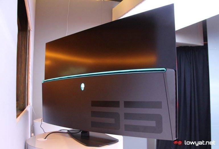alienware 55 oled monitor 09