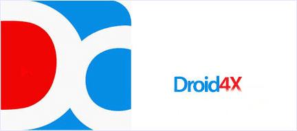 droid4x app logo