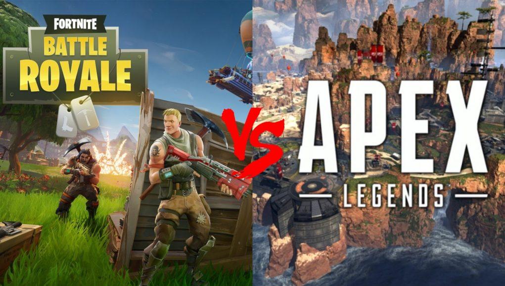 Apex Legends Vs Fortnite 2