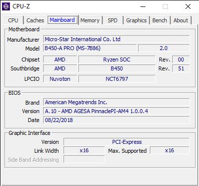 CPU Z 2 1 2019 8 48 32 AM
