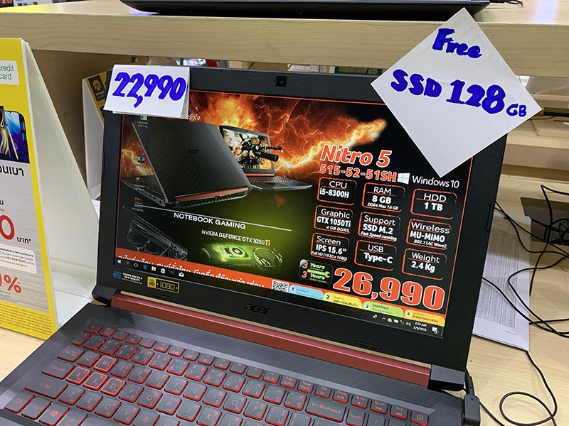 Gaming Notebook 20000 baht p6