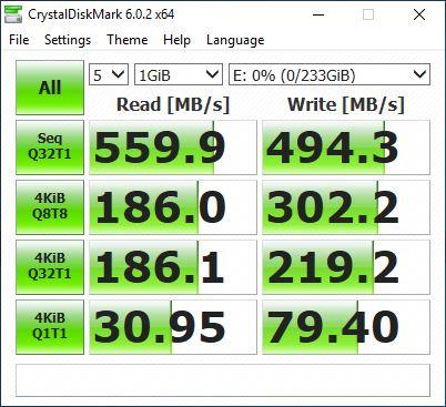 HP S700 test 3