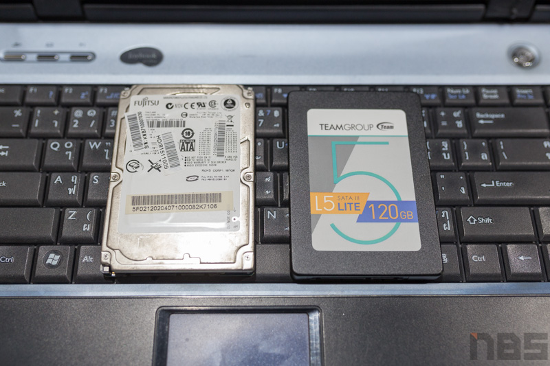 SSD teamgroup 120GB 20
