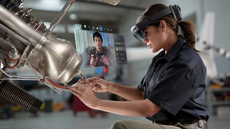 hololens with working
