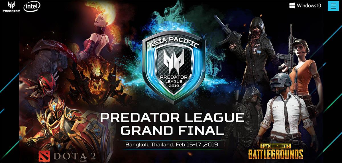 predator league 2019 top