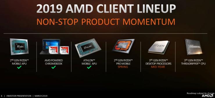 AMD Ryzen 3000 and Ryzen Threadripper 3000 Series CPUs Launch 2019