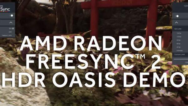 AMD freesync hdr oasis