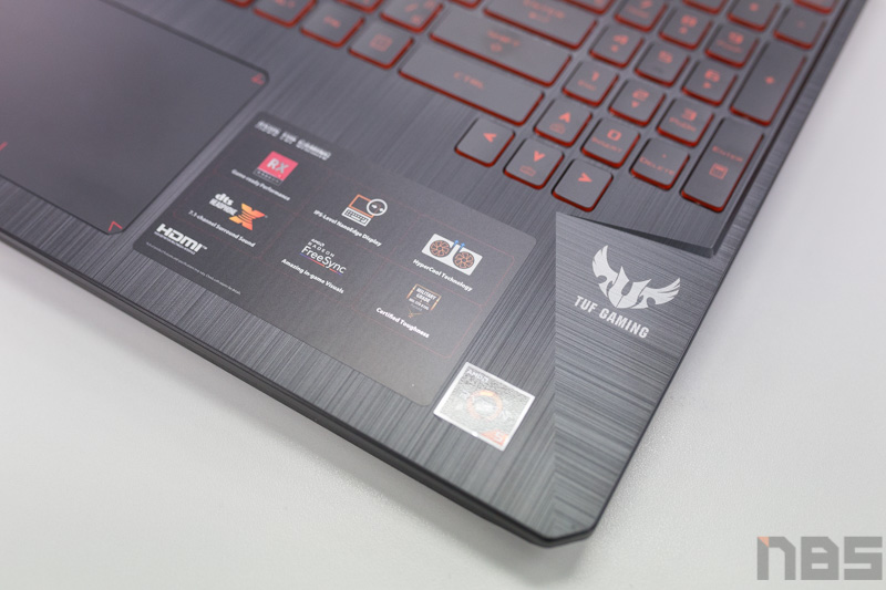 ASUS TUF FX505 DY AMD Gaming Notebook Preview 14
