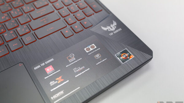 ASUS TUF FX505 DY AMD Gaming Notebook Preview 16