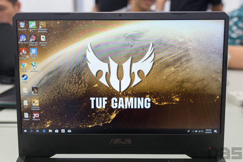 ASUS TUF FX505 DY AMD Gaming Notebook Preview 2
