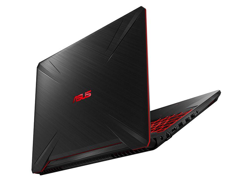 ASUS TUF Gaming FX505DY 3D Rendering Photos Red Matter Lighting 01
