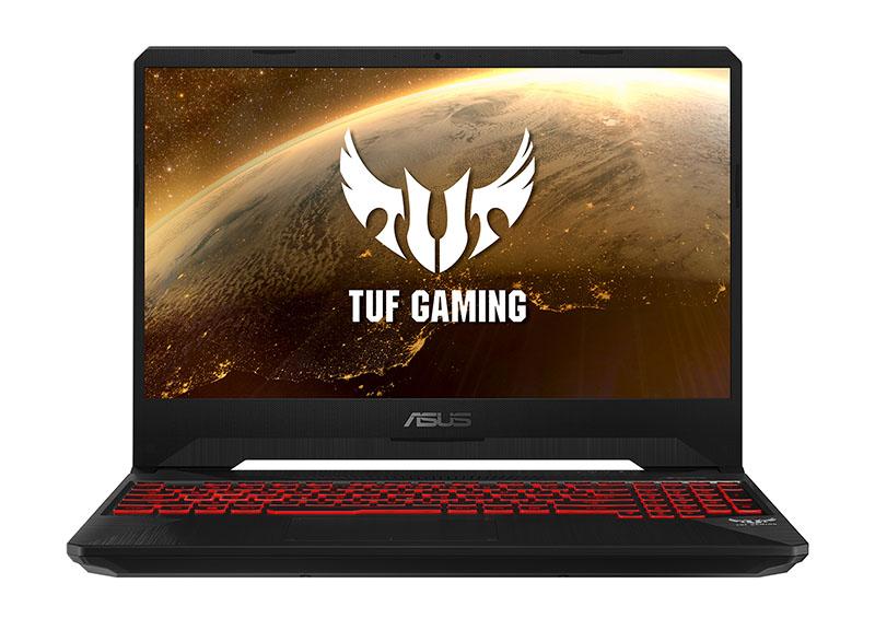 ASUS TUF Gaming FX505DY 3D Rendering Photos Red Matter Lighting 02