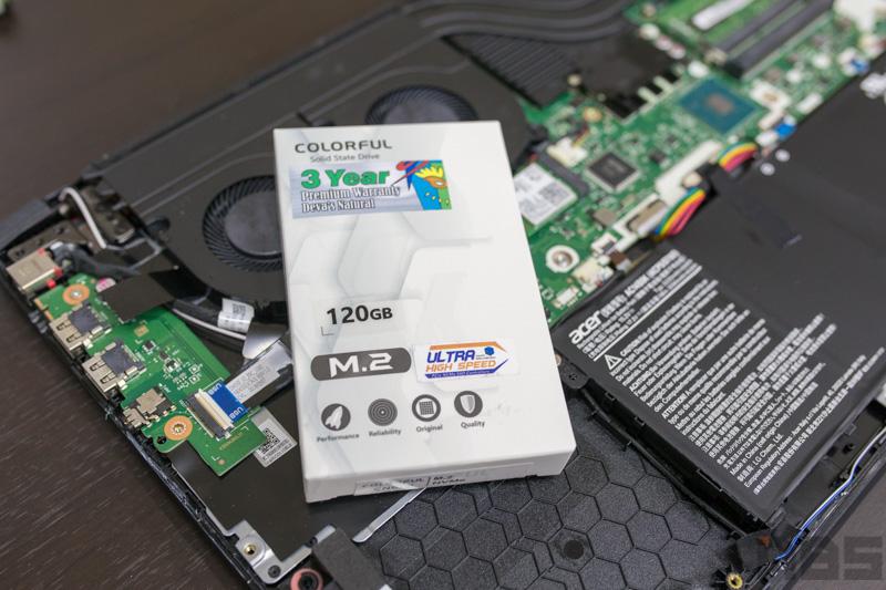 Acer Nitro 5 Up SSD 9