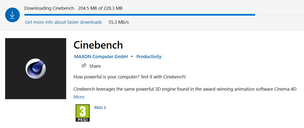 CINEBENCH R20 1