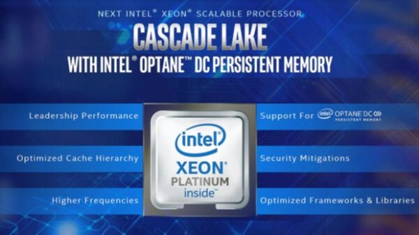 Intel Cascade Lake presentation