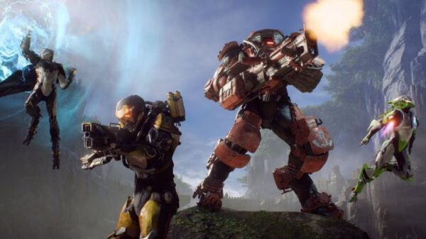 The first BioWare video This is Anthem amp 39 is an intensive course for Javelin and bad guys