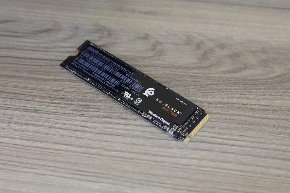 WD Black SN750 SSD 250 7