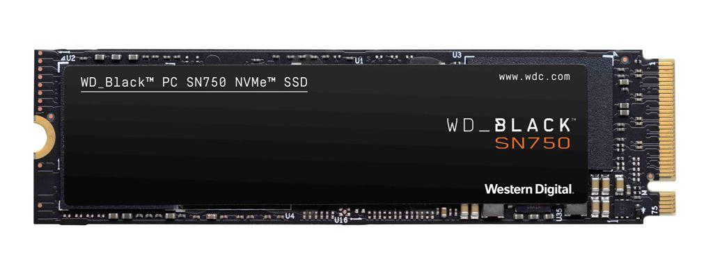 WD Black SN750 Noheatsink 1