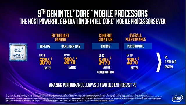 9th gen intel 9