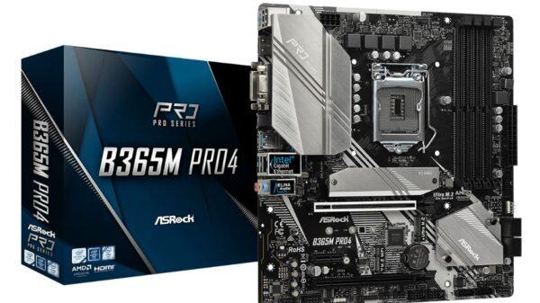 ASRock B365M Pro4 1