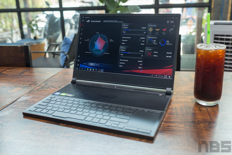 ASUS ROG Zephyrus GX531 RTX Review 16