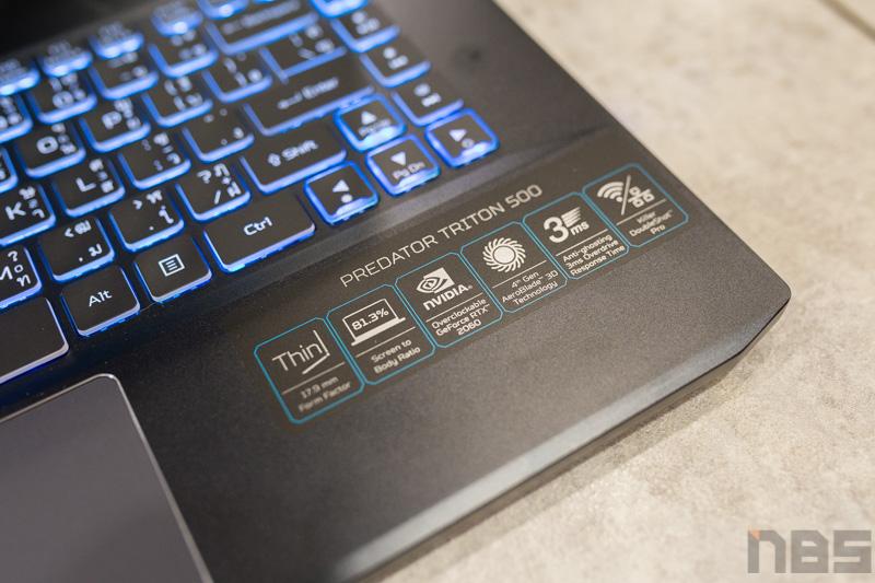 Acer Predator Triton 500 2019 Review 5