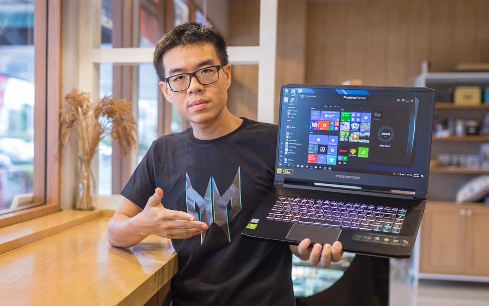 Acer Predator Triton 500 2019 top 1