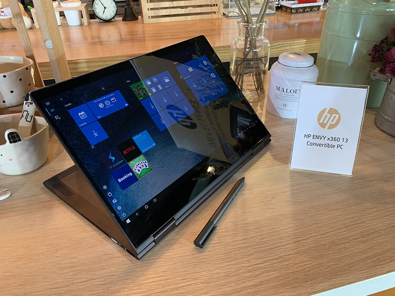 HP ENVY 13 x360 model 2019 Preview p15