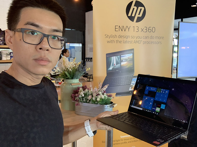 HP ENVY 13 x360 model 2019 Preview p16