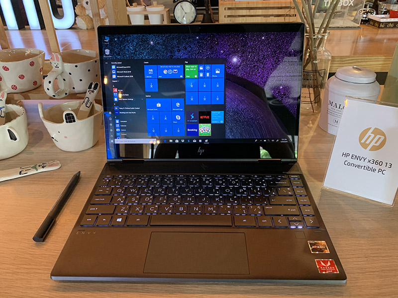 HP ENVY 13 x360 model 2019 Preview p4