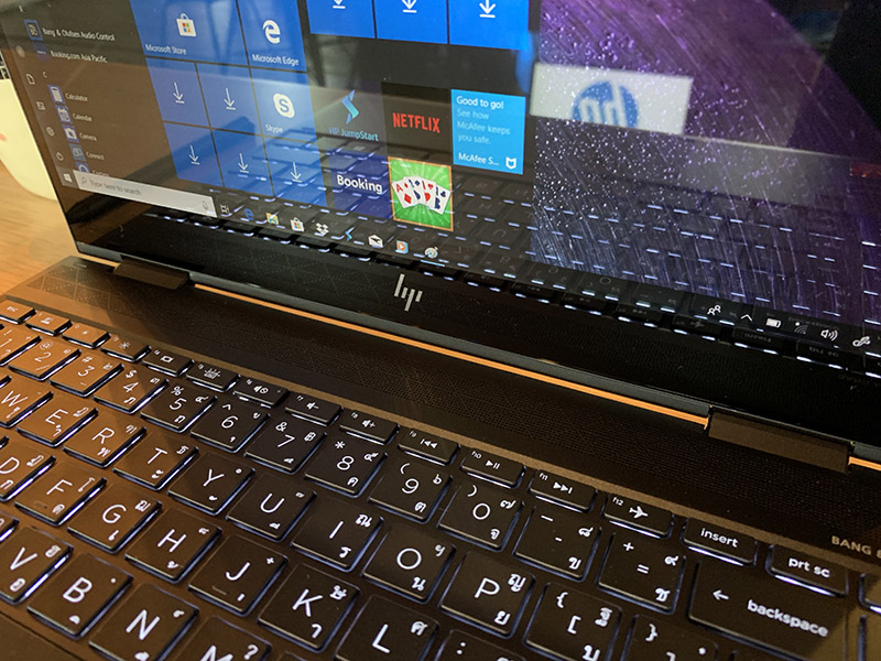 HP-ENVY 13 x360 2019, another 2-in-1 notebook that uses AMD Ryzen 5