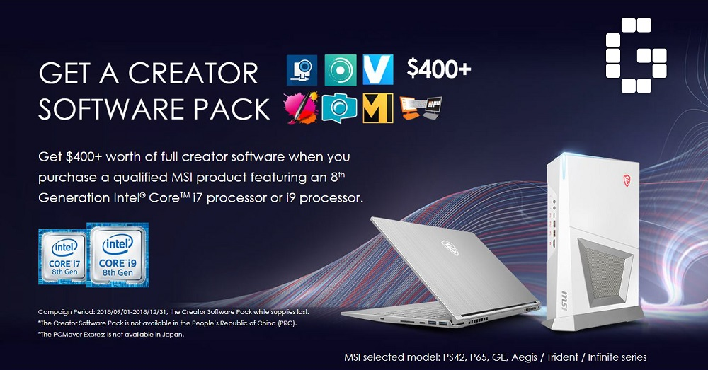 MSI Creator Pack feature image 01