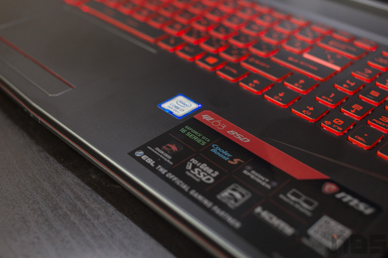 MSI GL63 8SD Review 3