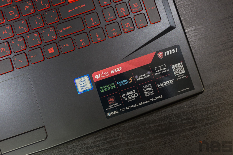 MSI GL63 8SD Review 8
