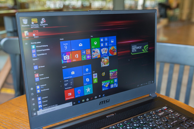 MSI GS65 8SE Review 36