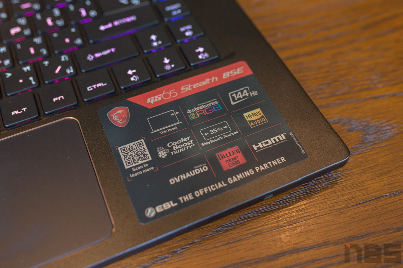 MSI GS65 8SE Review 5