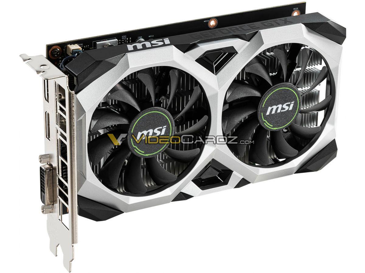 MSI GTX 1650 VENTUS XS OC