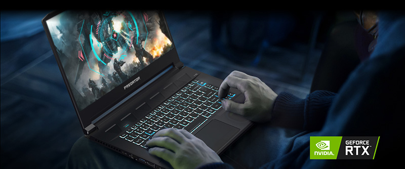 Predator Triton 500 Graphics