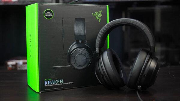 Razer Kraken headset 16