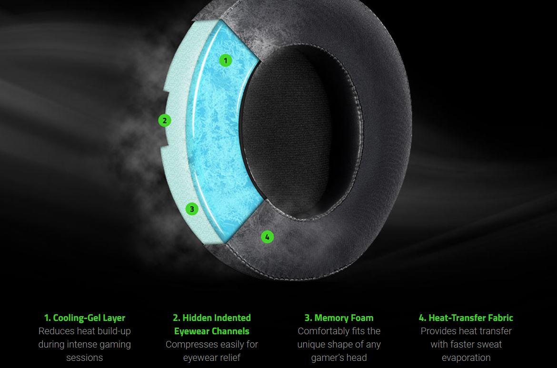 Razer Kraken headset ear