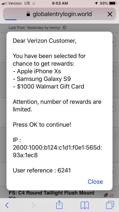 iOS Bug