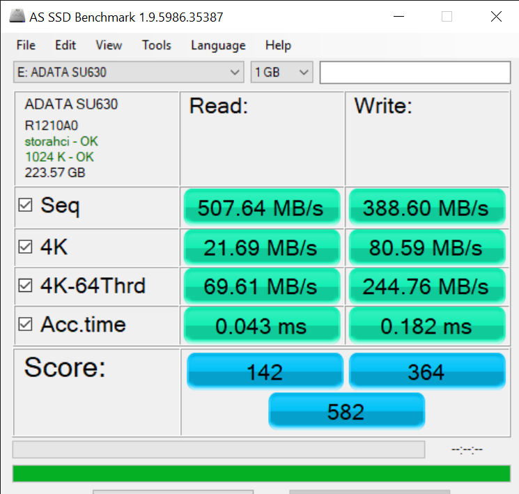 AS SSD Benchmark 1.9.5986.35387 5 14 2019 3 31 38 PM