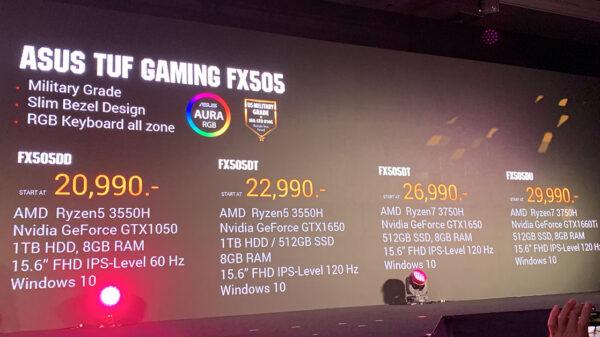 ASUS FX505DD DT DU Price