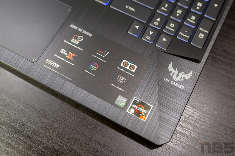 ASUS TUF FX505DT NBS Review 12