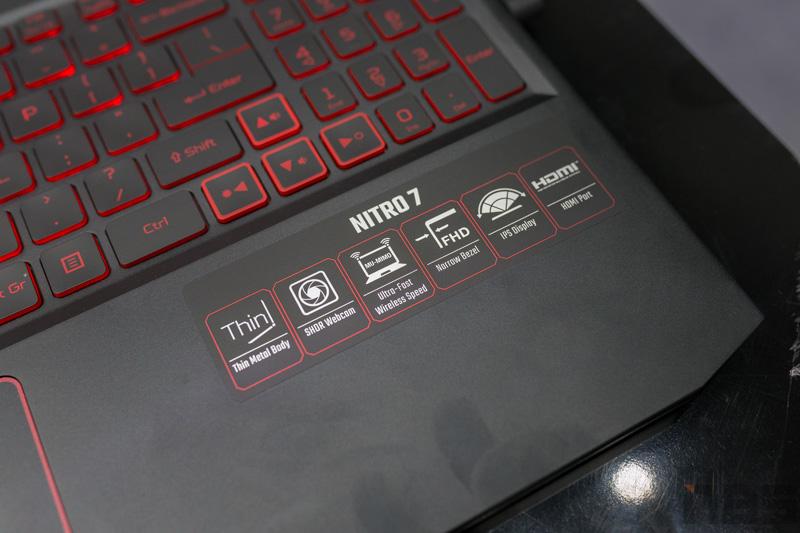Acer Nitro 7 Preview NBS 8