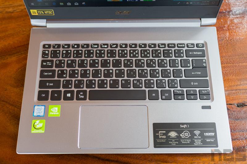 Review - Acer Swift 3 SF314 รุ่นใหม่ปี 2019 สเปกคุ้มค่าด้วย i5/i7 + MX250 ดีไซน์หรู บางเบา