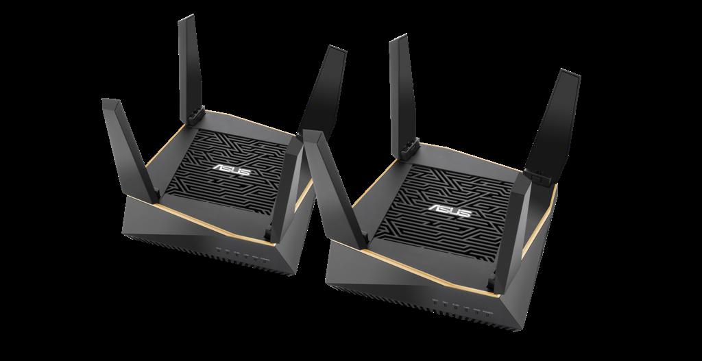 AiMesh AX6100 Wi Fi System RT AX92U 2 Pack
